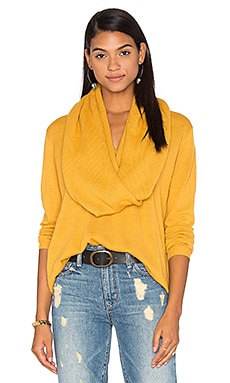 The Fall Knit Jumper Sweater in Marigold