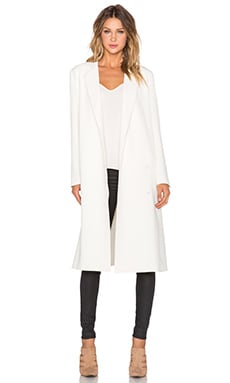 TY-LR Classic Coat in Cream