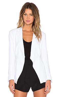 TY-LR The Lucid Blazer in Blanc