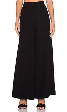 TY-LR The Lucid Palazzo Pant in Noir