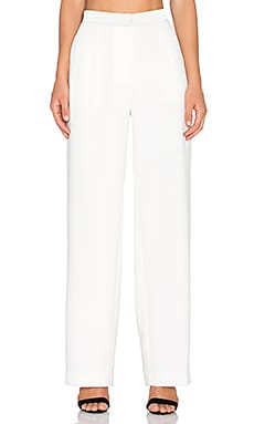 The Rive Gauche Trouser in Cream