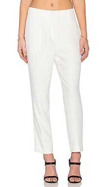 TY-LR The Response Cigarette Trouser in White