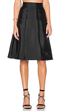 TY-LR The Graphite Skirt in Black