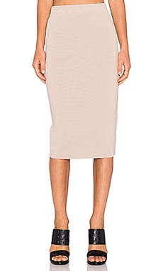 TY-LR The Sandblaster Knit Skirt in Oatmeal