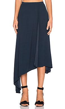 TY-LR The Lucid Skirt in Petroleum Blue
