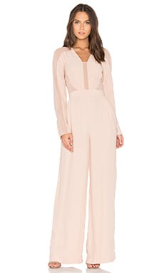 The Catherine Jumpsuit in Sunsand