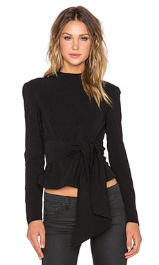 TY-LR The Harper Bow Top in Black
