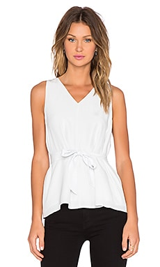 TY-LR The Horizon Top in Blanc