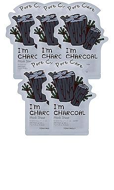 I'M CHARCOAL SHEET MASK シートマスク Tonymoly $12