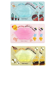 Kiss Kiss Lip Patch Set TONYMOLY $23