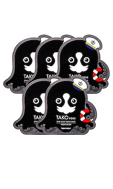 TRATAMIENTO TAKO PORE ONE SHOT NOSE PACK TONYMOLY $17