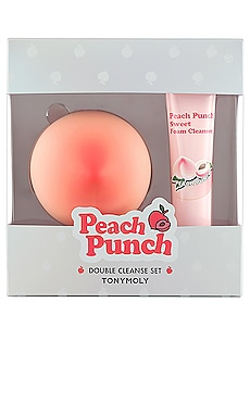 Peach Punch Double Cleanse Set Tonymoly $22