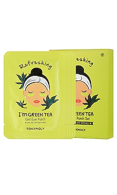 I'm Green Tea Gel Eye Mask 5 Pack TONYMOLY $16