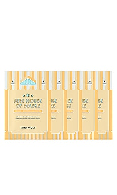 LOT DE SOINS DE LA PEAU HOUSE OF MASKS TONYMOLY $8