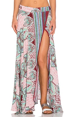 Tysa Wrap Skirt in Morocco