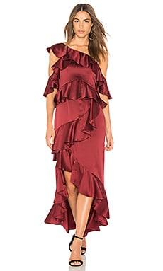 Атласное платье lorelei - AMUR
