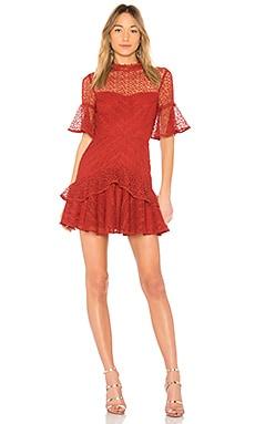 Мини платье mila - AMUR