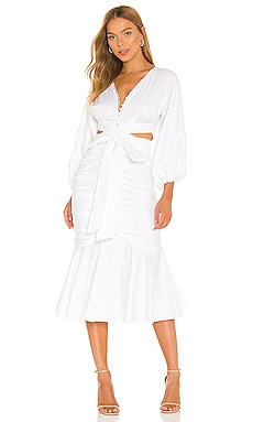 Malika Midi Dress AMUR $568