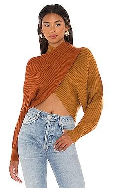 Milena Crop Sweater AMUR $298 BEST SELLER