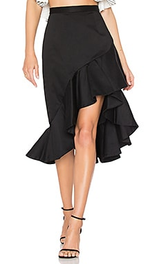 x REVOLVE Salma Ruffle Skirt
