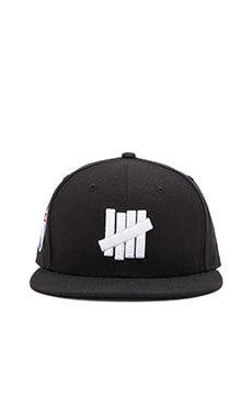 Undefeated 5 Strike SU15 New Era Ballcap in Black
