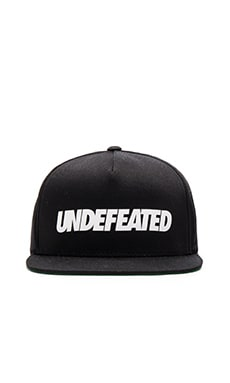 Undefeated Undefeated Snapback in Black