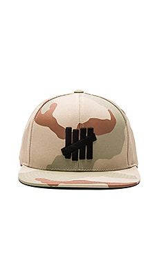 Undefeated 5 Strike SU16 Snapback in Camo