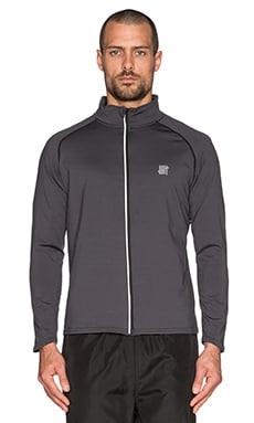 Undefeated OP Camo Tech Full Zip Jacket in Dark Grey