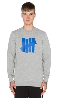 Undefeated Five Strike SU15 Pullover in Grey Heather