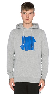 Undefeated Five Strike SU15 Hoody in Grey Heather