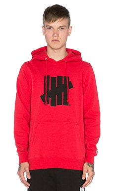 Undefeated Five Strike SU15 Hoody in Red