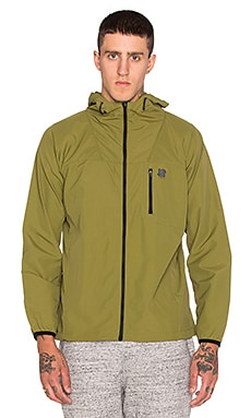 Undefeated Tech Windbreaker in Olive