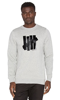 Undefeated 5 Strike Crew in Grey Heather