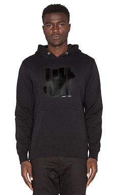 Undefeated 5 Strike Hoody in Black