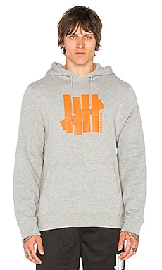 Undefeated Strike Vert Und Hoodie in Grey Heather