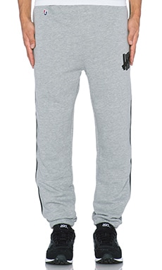 Undefeated Right Fielder Sweatpant in Grey Heather