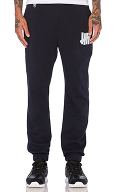 Undefeated 5 Strike Sweatpant in Navy