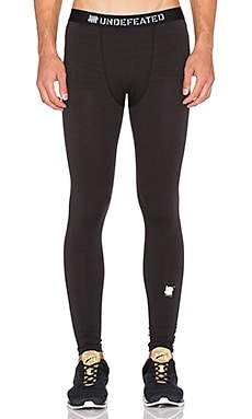 Undefeated Tech Tights in Black