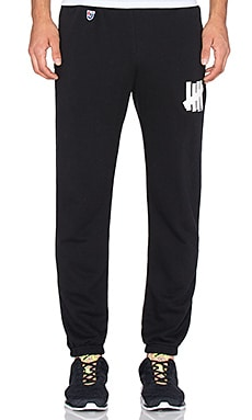 Undefeated 5 Strike Terry Pant in Black