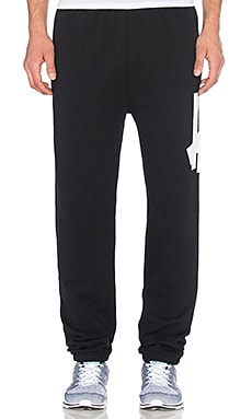 Undefeated Big 5 Strike Sweatpant in Black