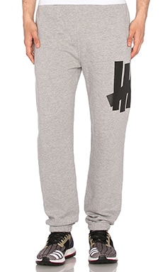 Undefeated Big 5 Strike Sweatpant in Grey Heather