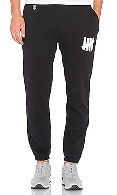 Undefeated 5 Strike Sweatpant in Black