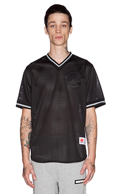 Undefeated Cut Throat Jersey in Black