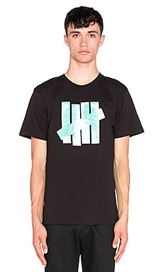 Undefeated X-Ray Tee in Black & Green