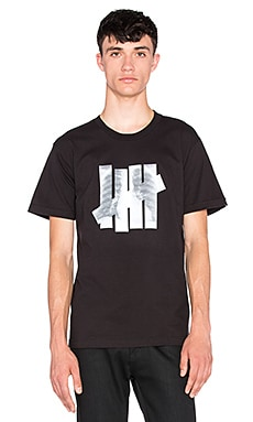 Undefeated X-Ray Tee in Black & White