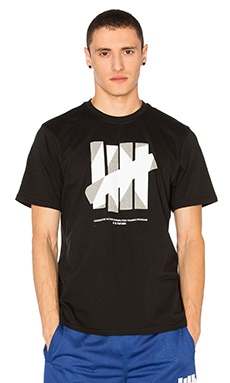 Undefeated 5 Strike UACTP Tee in Black