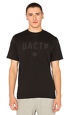 Undefeated UACTP Tech Tee in Black