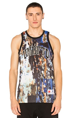 Undefeated Distortion Jersey in Blue