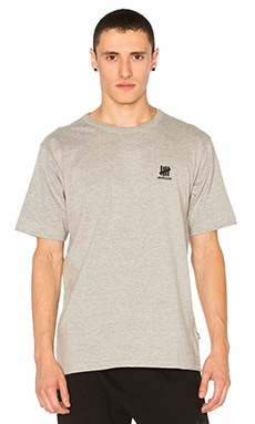 Undefeated UNDFTD Basic Crew in Grey Heather