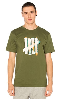 Undefeated Over Tee in Olive